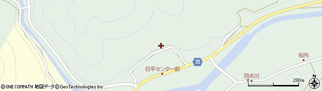 大分県佐伯市本匠大字因尾361周辺の地図