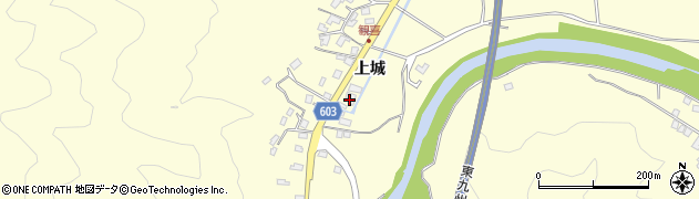 大分県佐伯市長谷6061周辺の地図