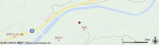 大分県佐伯市本匠大字因尾940周辺の地図