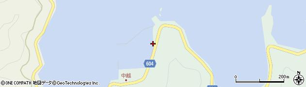 大分県佐伯市鶴見大字中越浦297周辺の地図