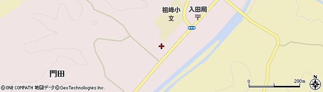 大分県竹田市門田253周辺の地図