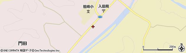 大分県竹田市門田251周辺の地図