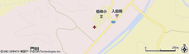 大分県竹田市門田258周辺の地図