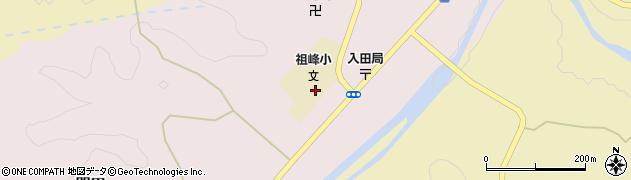 大分県竹田市門田266周辺の地図