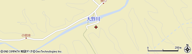 大分県竹田市吉田1500周辺の地図