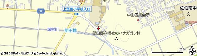大分県佐伯市長谷7758周辺の地図