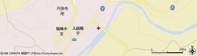 大分県竹田市門田217周辺の地図