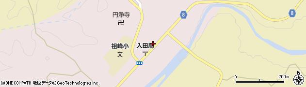 大分県竹田市門田238周辺の地図