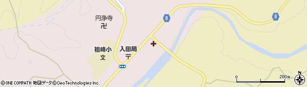 大分県竹田市門田236周辺の地図