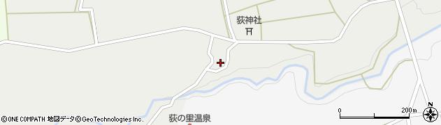 大分県竹田市荻町新藤1022周辺の地図