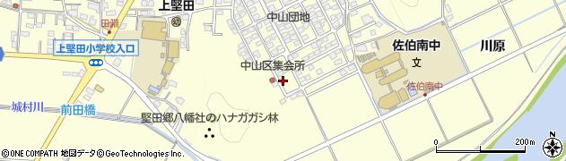 大分県佐伯市長谷9863周辺の地図
