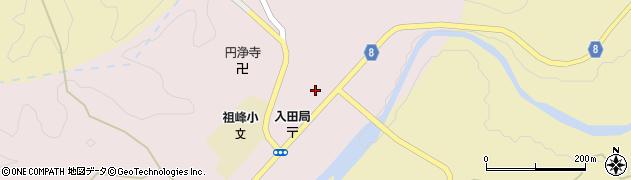 大分県竹田市門田241周辺の地図