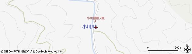 大分県佐伯市本匠大字小川2458周辺の地図