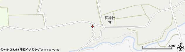 大分県竹田市荻町新藤1059周辺の地図
