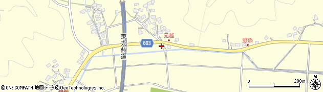 大分県佐伯市長谷6681周辺の地図