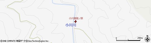 大分県佐伯市本匠大字小川2461周辺の地図