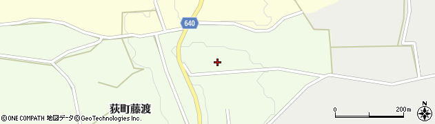 大分県竹田市荻町藤渡452周辺の地図