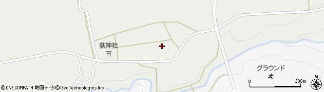 大分県竹田市荻町新藤972周辺の地図