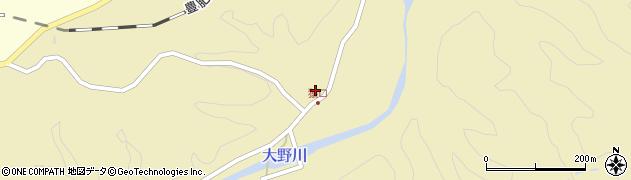 大分県竹田市吉田852周辺の地図