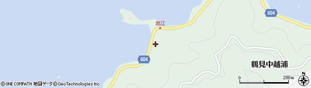 大分県佐伯市鶴見大字中越浦498周辺の地図