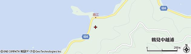 大分県佐伯市鶴見大字中越浦499周辺の地図