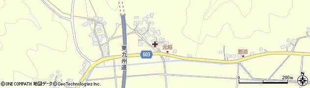大分県佐伯市長谷6695周辺の地図