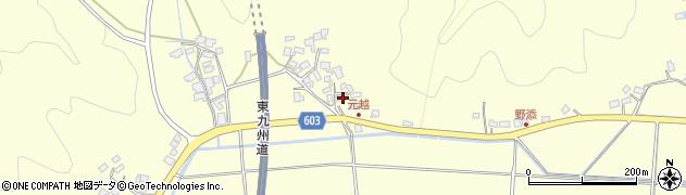 大分県佐伯市長谷6698周辺の地図