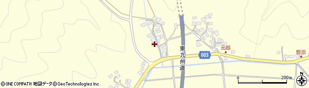 大分県佐伯市長谷6420周辺の地図