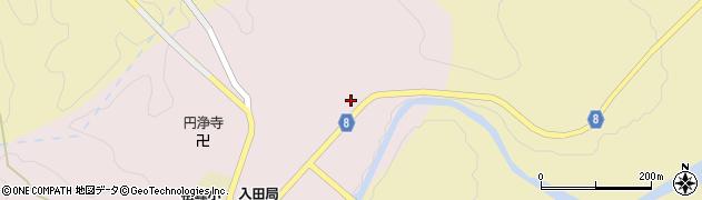 大分県竹田市門田146周辺の地図