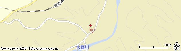 大分県竹田市吉田854周辺の地図