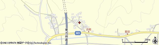 大分県佐伯市長谷6717周辺の地図