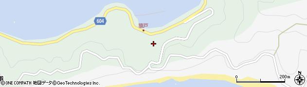 大分県佐伯市鶴見大字中越浦609周辺の地図