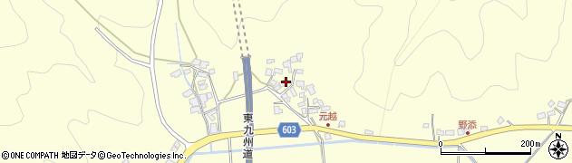 大分県佐伯市長谷6720周辺の地図