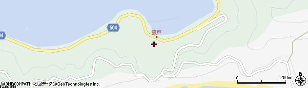 大分県佐伯市鶴見大字中越浦606周辺の地図