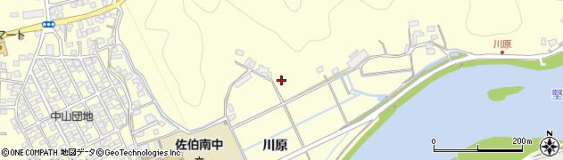 大分県佐伯市長谷9958周辺の地図