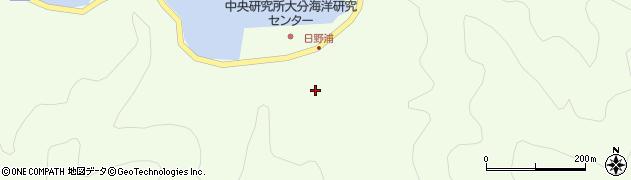 大分県佐伯市鶴見大字有明浦532周辺の地図