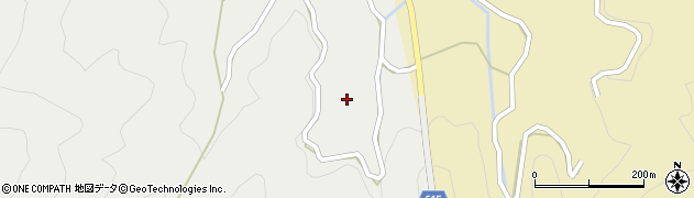 大分県佐伯市鶴見大字地松浦1780周辺の地図