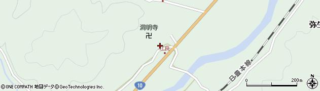 大分県佐伯市弥生大字江良1048周辺の地図