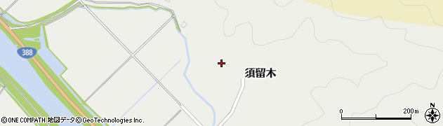 大分県佐伯市木立6694周辺の地図