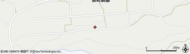 大分県竹田市荻町新藤128周辺の地図