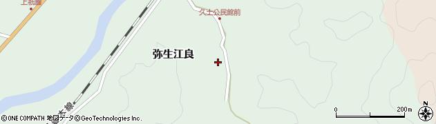 大分県佐伯市弥生大字江良2661周辺の地図