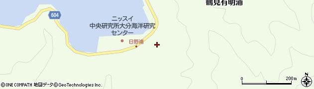 大分県佐伯市鶴見大字有明浦730周辺の地図