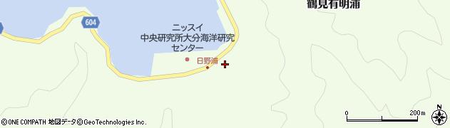 大分県佐伯市鶴見大字有明浦714周辺の地図
