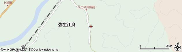 大分県佐伯市弥生大字江良2672周辺の地図