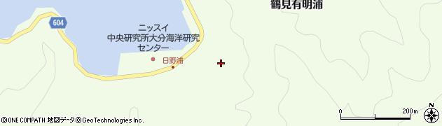 大分県佐伯市鶴見大字有明浦741周辺の地図