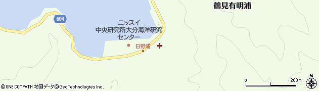 大分県佐伯市鶴見大字有明浦731周辺の地図