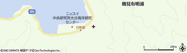大分県佐伯市鶴見大字有明浦734周辺の地図