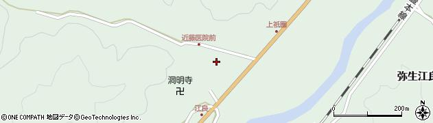 大分県佐伯市弥生大字江良1372周辺の地図
