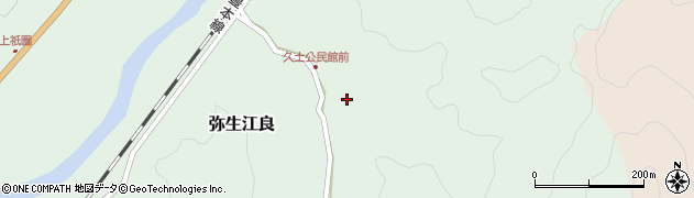 大分県佐伯市弥生大字江良2683周辺の地図