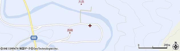大分県佐伯市本匠大字三股1149周辺の地図